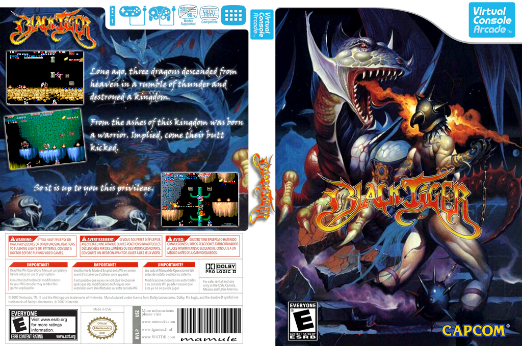 Black Tiger Wii coverfullHQB (E53E)