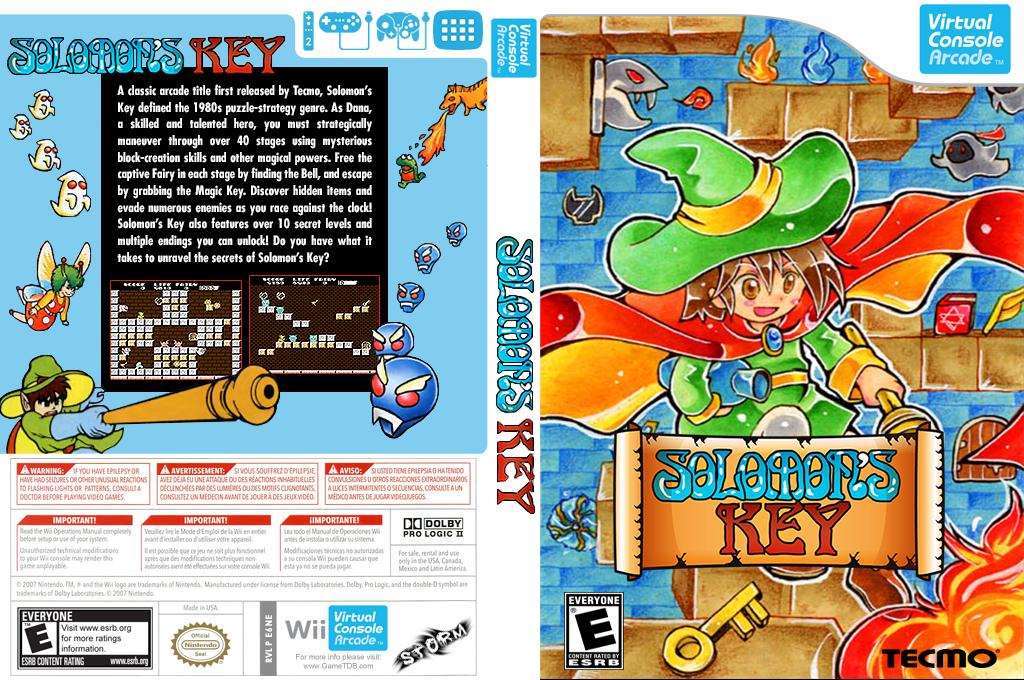 Solomon's Key Wii coverfullHQB (E6NE)