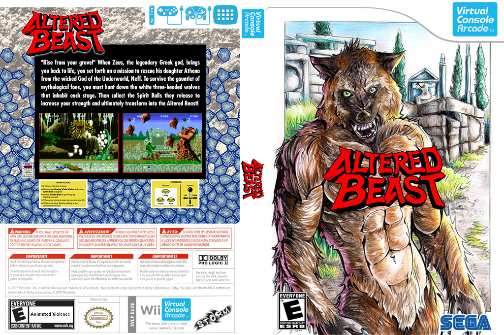 Altered Beast Wii coverfullHQB (E6XE)