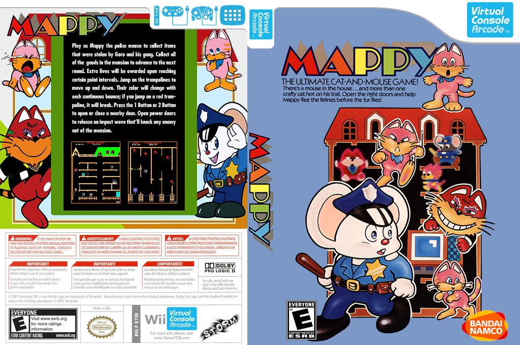 Mappy Wii coverfullHQB (E73E)