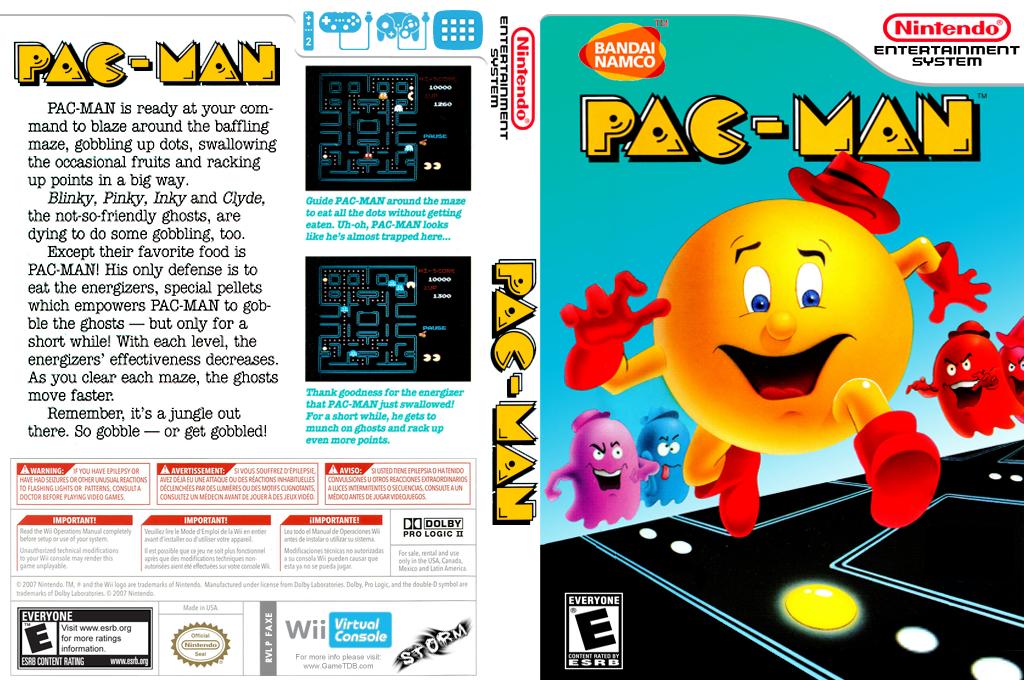 Pac-Man Wii coverfullHQB (FAXE)