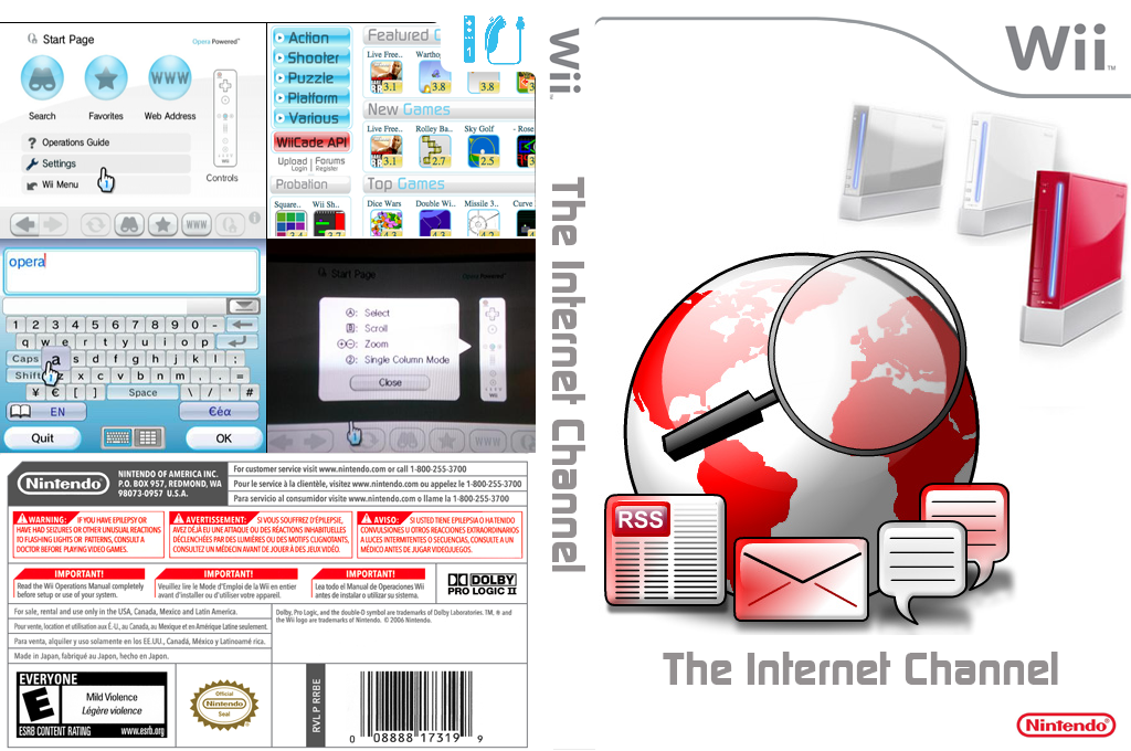Internet Channel Wii coverfullHQB (HADE)