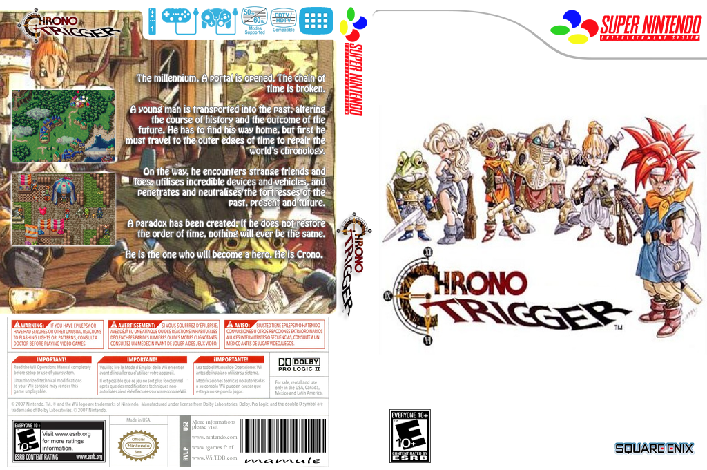 Chrono Trigger Wii coverfullHQB (JECE)