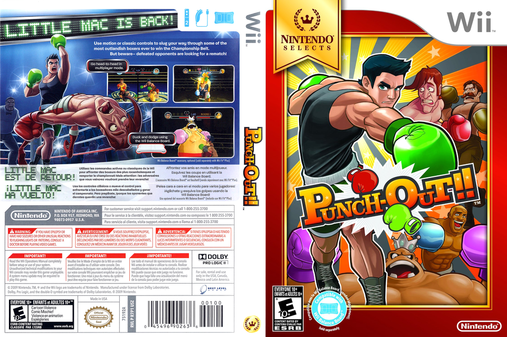 Punch-Out!! Array coverfullHQB (R7PE01)