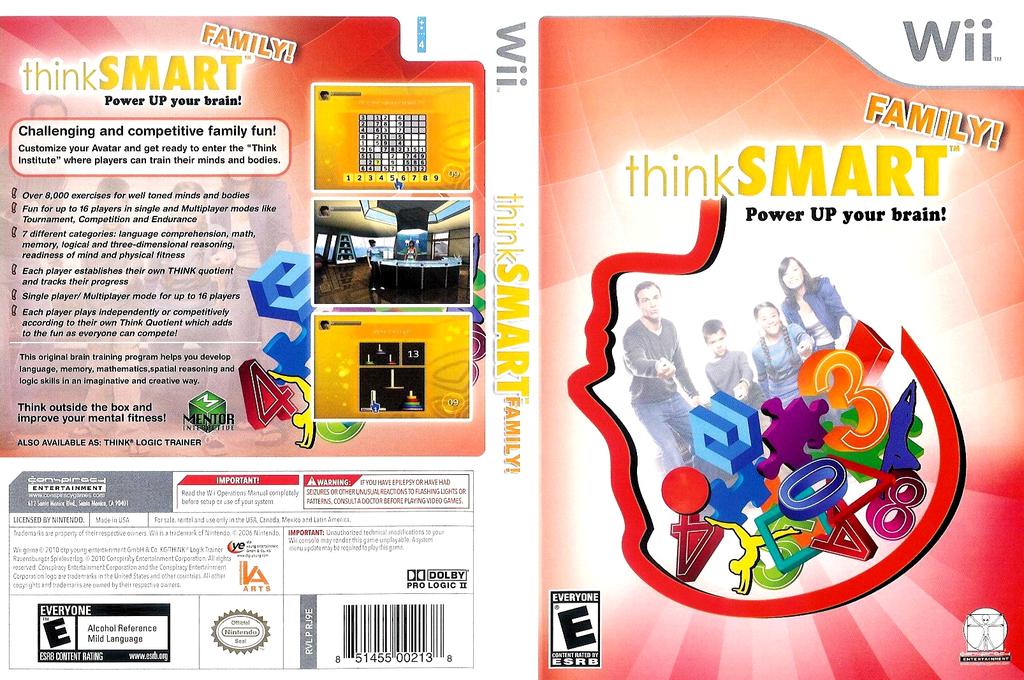 thinkSMART Family Wii coverfullHQB (RJ9E5Z)