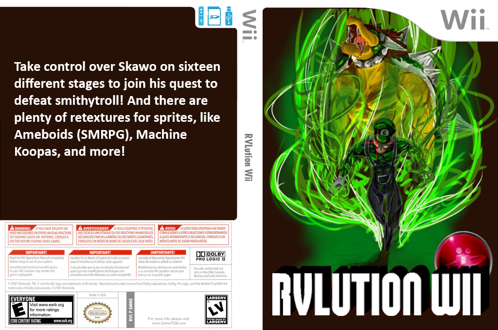 RVLution Wii Wii coverfullHQB (SMNERV)