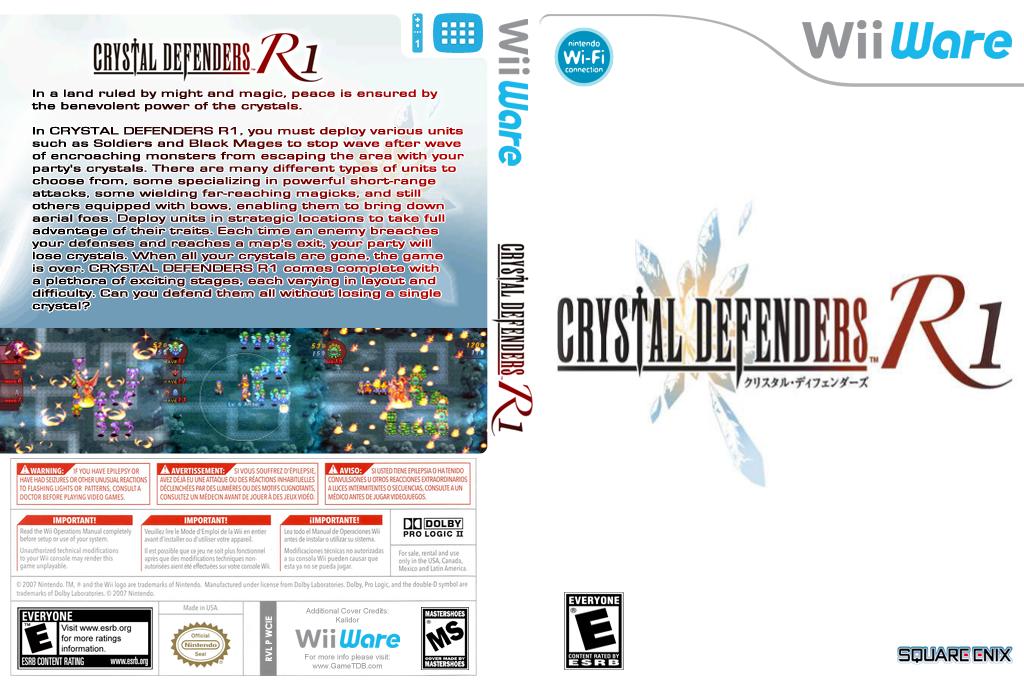 Crystal Defenders R1 Wii coverfullHQB (WCIE)