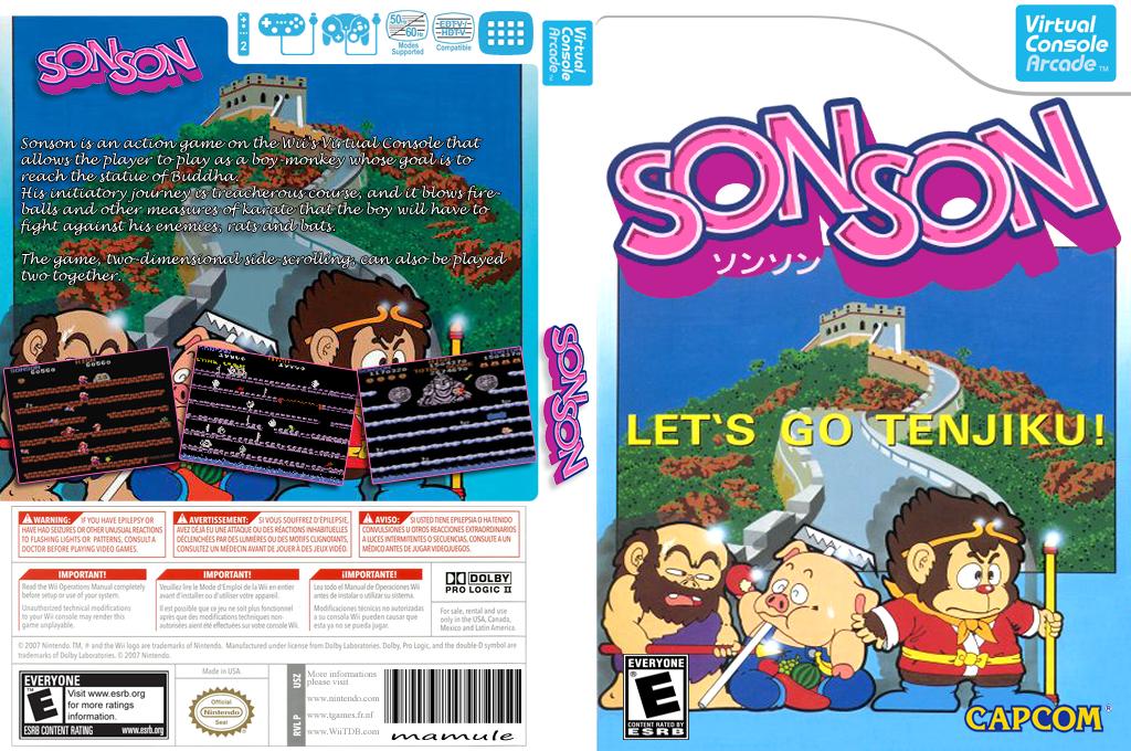 SonSon Wii coverfullHQB2 (E57E)