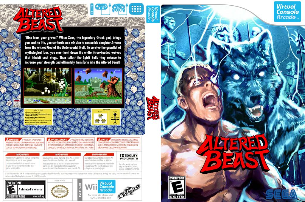 Altered Beast Wii coverfullHQB2 (E6XE)