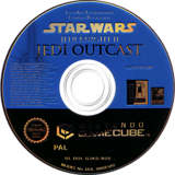 Star Wars Jedi Knight II: Jedi Outcast GameCube disc (GJKD52)