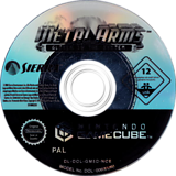 Metal Arms:Glitch in the System GameCube disc (GM5D7D)