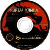 Mortal Kombat: Deadly Alliance GameCube disc (GMKD5D)