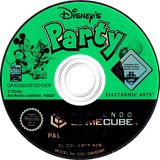 Disney's Party GameCube disc (GMTP69)
