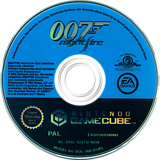 James Bond 007: NightFire GameCube disc (GO7D69)