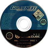 GoldenEye:Rogue Agent GameCube disc (GOYD69)