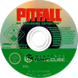Pitfall: Die verlorene Expedition GameCube disc (GPHD52)