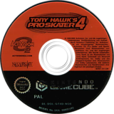 Tony Hawk's Pro Skater 4 GameCube disc (GT4D52)