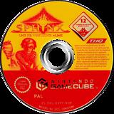 Sphinx und die verfluchte Mumie GameCube disc (GXPP78)