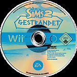 Die Sims 2: Gestrandet Wii disc (R42P69)