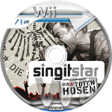 SingItStar Die Toten Hosen CUSTOM disc (SDTH3Q)