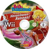 Bibi Blocksberg: Das große Hexenbesen-Rennen! Wii disc (SGWD7K)