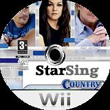 StarSing:Country v2.0 CUSTOM disc (CS1P00)