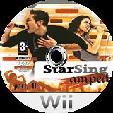StarSing:Amped Part. II v2.0 CUSTOM disc (CS7PZZ)