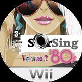 StarSing:'80s Volume 2 v2.2 CUSTOM disc (CS9P00)