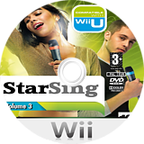 StarSing:Volume 3 v1.0 CUSTOM disc (CTZP00)