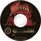 The Legend of Zelda: Ocarina of Time / Master Quest GameCube disc (D43P01)
