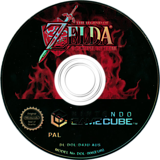 The Legend of Zelda: Ocarina of Time (Bonus Disc) GameCube disc (D43U01)