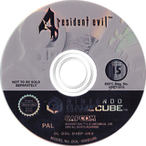 Resident Evil 4: Bonus Disc GameCube disc (D4BP01)