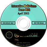 Interactive Multi-Game Demo Disc - April 2005 GameCube disc (D82P01)