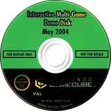 Interactive Multi-Game Demo Disc - May 2004 GameCube disc (D86P01)
