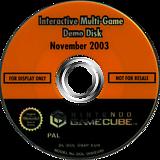 Interactive Multi-Game Demo Disc - November 2003 GameCube disc (D88P01)