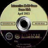 Interactive Multi-Game Demo Disc - April 2003 GameCube disc (D93P01)