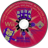 Boom Blox (Demo) Wii disc (DBKP69)