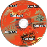 MySims Racing (Demo) Wii disc (DQGP69)