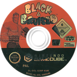 Black & Bruised GameCube disc (G2BP7D)