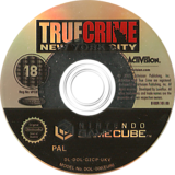 True Crime: New York City GameCube disc (G2CP52)