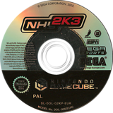 NHL 2K3 GameCube disc (G2KP8P)
