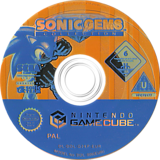 Sonic Gems Collection GameCube disc (G2XP8P)