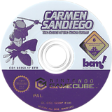 Carmen Sandiego: The Secret of the Stolen Drums GameCube disc (G3DP6L)
