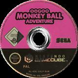 Super Monkey Ball Adventure GameCube disc (G3LP8P)