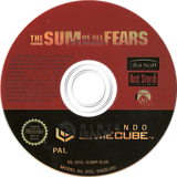 The Sum of All Fears GameCube disc (G3MP41)