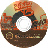 NBA Street Vol.3 GameCube disc (G3VP69)