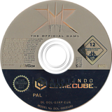 X-Men: The Official Game GameCube disc (G3XP52)