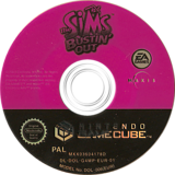 The Sims: Bustin' Out GameCube disc (G4MP69)
