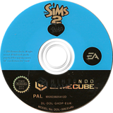 The Sims 2 : Pets GameCube disc (G4OP69)