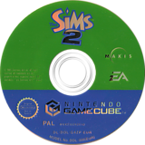 The Sims 2 GameCube disc (G4ZP69)